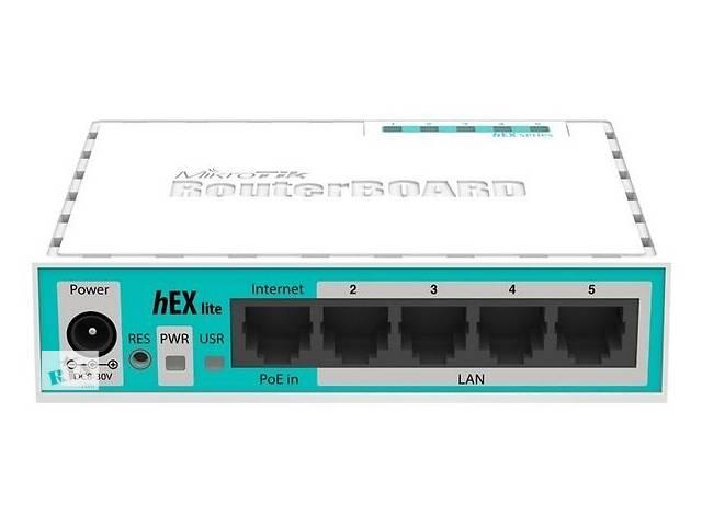 Маршрутизатор MikroTik  hEX lite 5xFE, RouterOS L4 (RB750r2) (RB750R2)- объявление о продаже  в Киеве