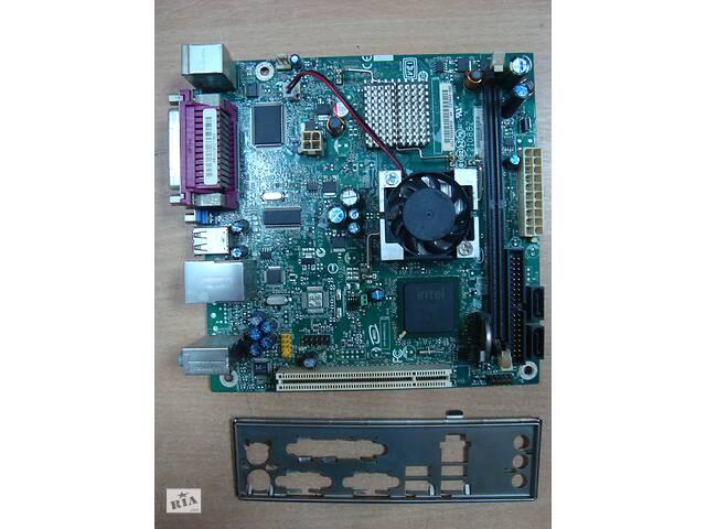 Материнская плата, CPU mini-ITX Intel Atom 230 1.6ГГц + Intel D945GCL- объявление о продаже  в Сумах