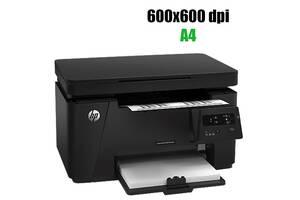 МФУ HP LaserJet Pro MFP M125a / лазерная черно-белая печать / сканирование / 600x600 dpi / 20 стр. мин / USB 2.0
