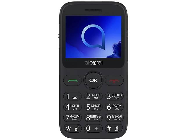бу Мобильный телефон Alcatel 2019 Single SIM Metallic Gray (2019G-3AALUA1) в Киеве