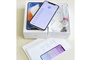 Мобільний телефон Apple iPhone X 64GB Silver Б/У