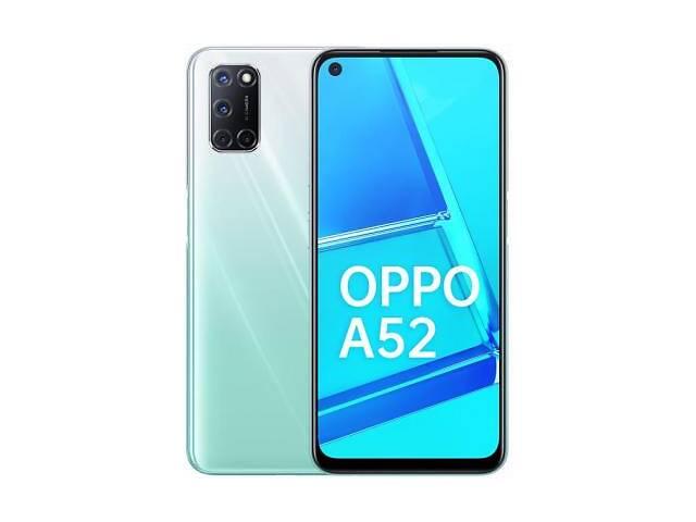 бу Мобильный телефон Oppo A52 4/64GB Stream White (OFCPH2069_WHITE) в Харькове