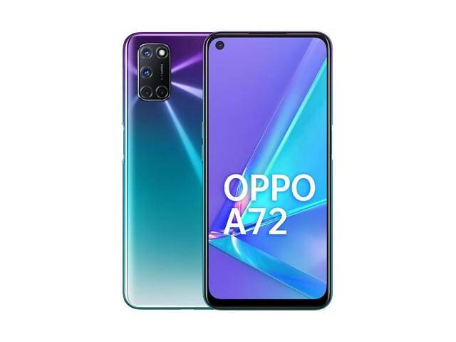 продам Мобильный телефон Oppo A72 4/128GB Aurora Purple (OFCPH2067_PURPLE) бу в Харькове