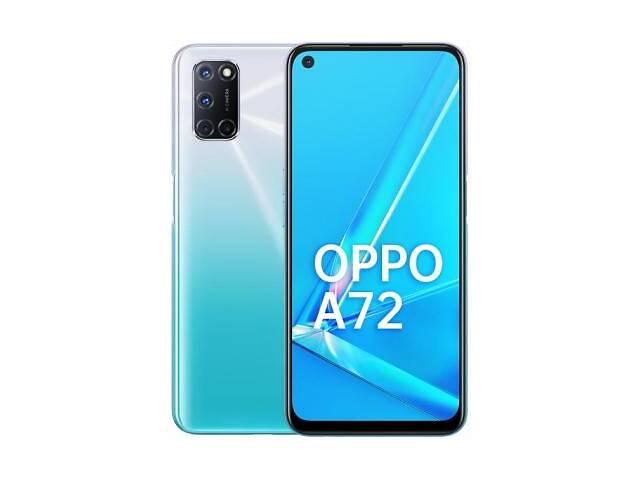 продам Мобильный телефон Oppo A72 4/128GB Shining White (OFCPH2067_WHITE) бу в Харькове