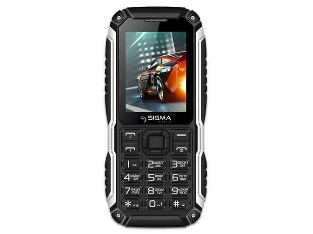 купить бу Мобильный телефон Sigma mobile X-treme PT68 Black в Киеве