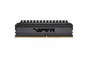 Модуль памяти для компьютера DDR4 16GB (2x8GB) 3000 MHz Viper Blackout Patriot (PVB416G300C6K)