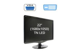 "Монитор ViewSonic VA2232w / 22"" (1680x1050) TN LED / 1x DVI-D, 1x VGA"