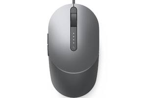 Мышь Dell Laser Wired Mouse MS3220 Titan Gray (570-ABHM)