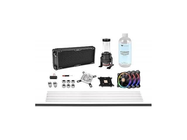 продам Набор для сборки CBO ThermalTake Pacific M240,R 240mm/Hard Tube/pure clear coolant (CL-W216-CU00SW-A) бу в Харькове