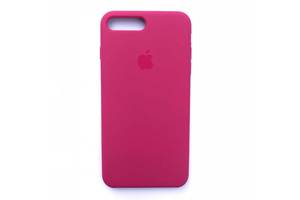 Чехол Silicone Case для Apple iPhone 7 Plus, 8 Plus Garnet