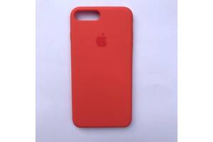 Чехол Silicone Case для Apple iPhone 7 Plus, 8 Plus Nectarine