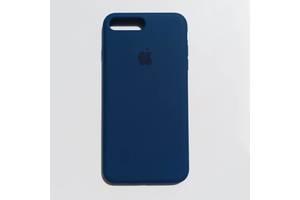 Чехол Silicone Case для Apple iPhone 7 Plus, 8 Plus Cosmos Blue