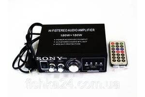 НЕДОРОГО Усилитель Звука Sony AK-699D FM USB +Караоке 2x180 Вт