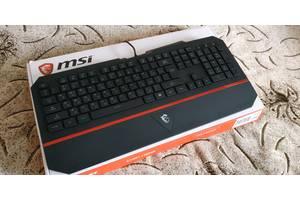 НОВАЯ, ГАРАНТИЯ! Игровая клавиатура MSI Interceptor DS4100!