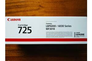 Оригинальный лазерный картридж Canon 725 (3484B002)