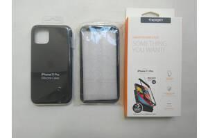 Оригинальный силиконовый чехол iPhone 11 PRO/SPIGEN THIN FIT/Бампер