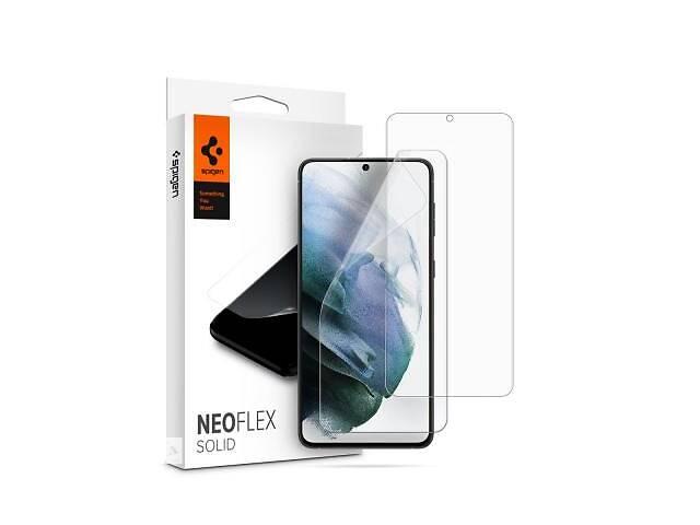 бу Плівка захисна Spigen Galaxy S21 + NeoFlex Solid HD, Clear (AFL02536) в Харкові