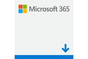 ПО Microsoft Office365 Personal 1 User 1 Year Subscription Ukrainian Medialess P6 (QQ2-01057)