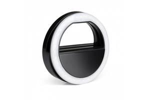 Подсветка кольцо для селфи Black SKL32-238175