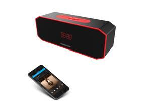 Портативная Bluetooth колонка Hopestar P8 Беспроводная акустическая система с режимом TWS Черный с красным