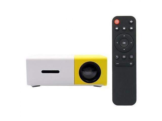 бу Портативный мини проектор LED Projector YG-300 White/Yellow в Одесі