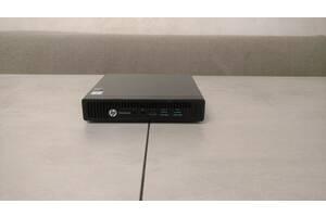 Потужний міні-ПК HP EliteDesk 800 G2, i5-6500T, 16GB DDR4, 128GB NVMe SSD + 500GB