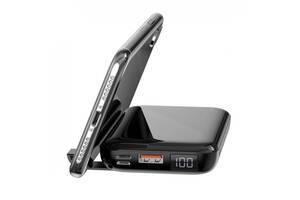 Повербанк BASEUS Mini S Bracket with wireless charger 10000mAh |1USB/1Type-c, QC/PD, 10W/18W|. Black