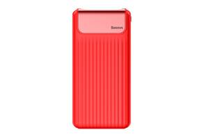 Power bank Baseus Quick Charge 3.0 с ЖК дисплеем 10000 mah Red