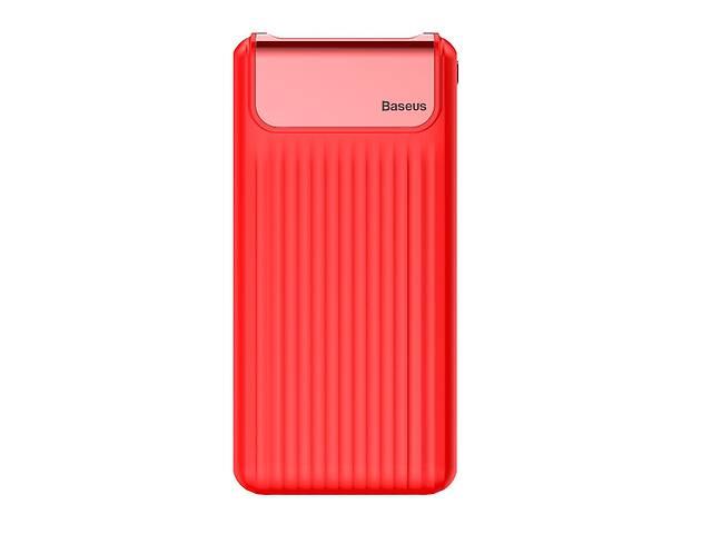 купить бу Power bank Baseus Quick Charge 3.0 с ЖК дисплеем 10000 mah Red в Запорожье