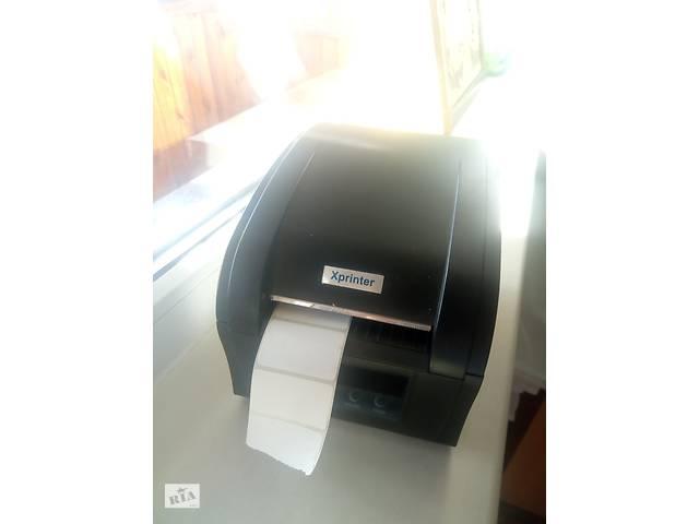 купить бу Продам принтер чеков-этикеток xprinter xp-360b в Харькове