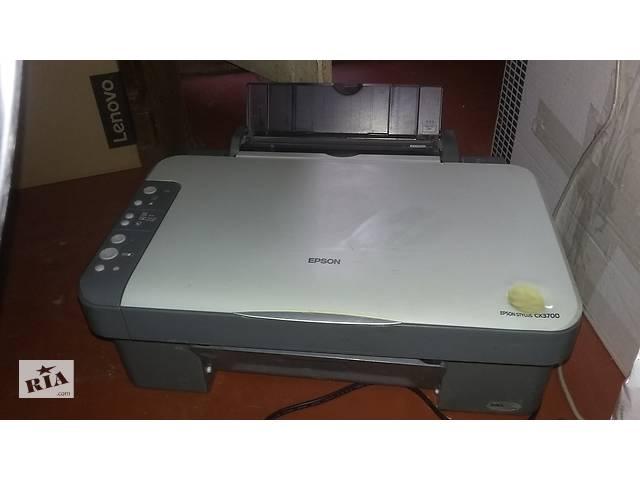купить бу принтер сканер Epson Stylus CX3700 в Киеве