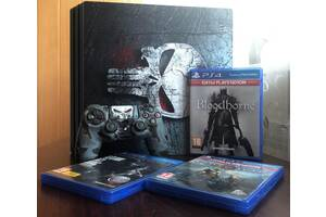 PS4 Pro 1 TB + 3 игры на дисках + аккаунт