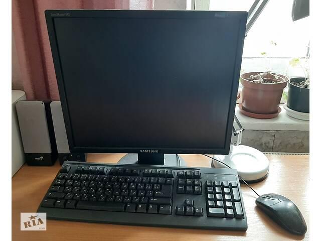 Рабочий компьютер для работы и учебы- объявление о продаже  в Песочине