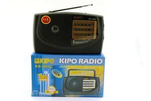 Мощный цифровой портативный FM радиоприемник Kipo всеволновое переносное портативное радио