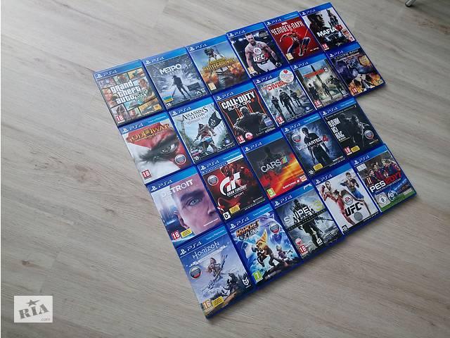купить бу Red Dead Redemption 2 PS4 The Witcher 3 ведьмак Assassin Creed Odysse в Киеве