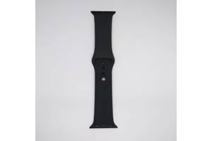 Ремешок Apple Watch 38mm M/L silicone Black