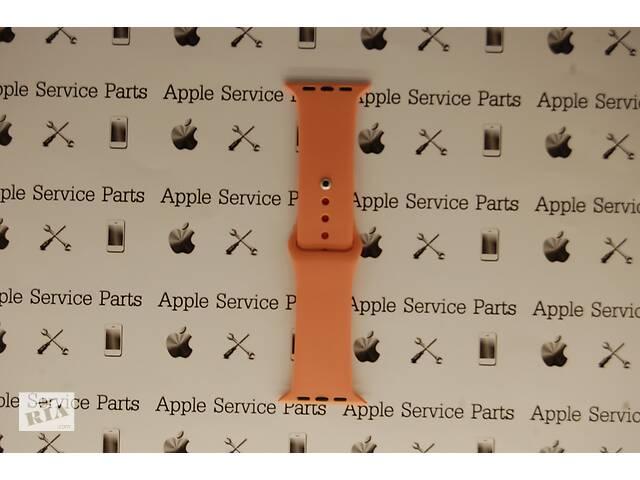 бу Ремешок Apple Watch 42mm S/M silicone Papaya в Харькове