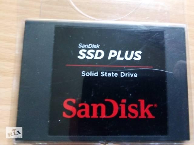 """купить бу SanDisk SSD Plus 120GB 2.5"""" в Тернополе"""