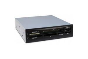 "Считыватель флеш-карт Nitrox USB2.0 3.5"" SD/MMC/MS/CF/xD/Micro SD/M2 (CI-02)"