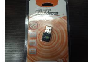 Сетевой WiFi адаптер USB 600Mbps 2.4 ГГц / 5 ГГц