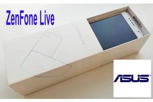 Смартфон ASUS Zenfone Live ZB553KL Dual Sim, Pink 2/16 Gb, Android 7.1 - в идеальном состоянии