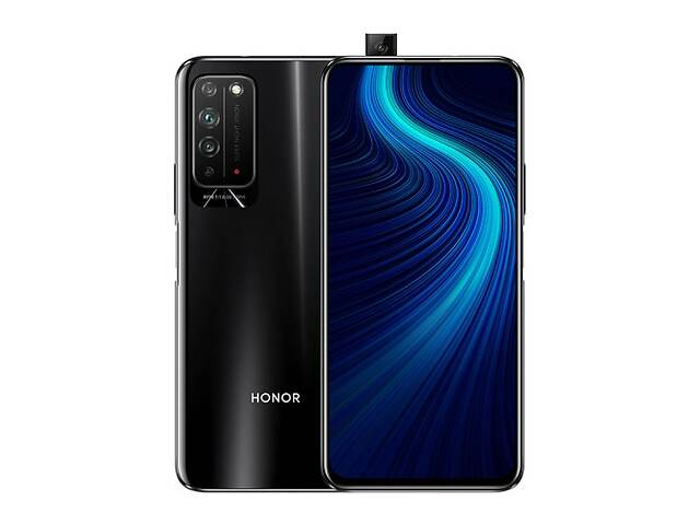 купить бу Смартфон Huawei Honor X10 6/64GB 5G Black в Киеве