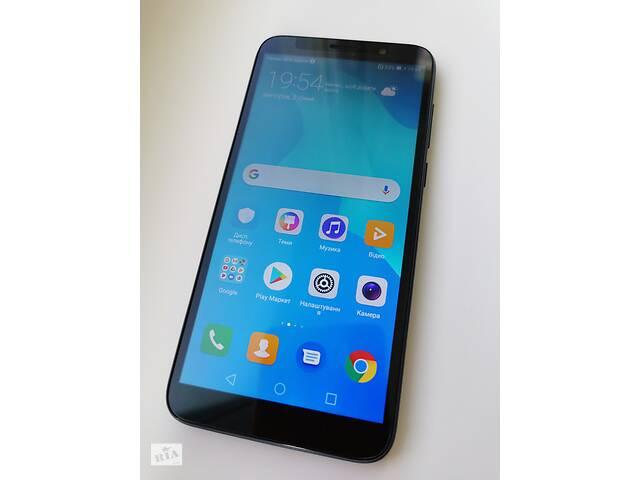 бу Смартфон Huawei Y5 2018 DRA-L21 (Blue) dual sim в Киеве