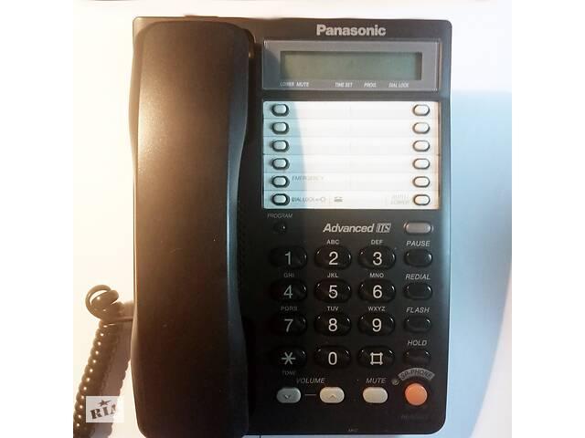 купить бу Стационарный (рабочий/домашний) телефон Panasonic KX-TS2365 в Киеве