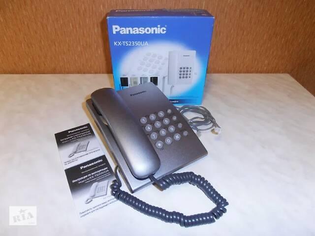 купить бу Стационарный телефон Panasonic KX – TS2350UA в Виннице