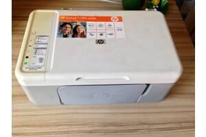 Струйное МФУ HP Deskjet F2280 принтер сканер копир+чернила