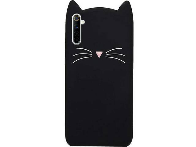 купить бу Силиконовая накладка 3D Cat для Realme 6 Pro в Одессе