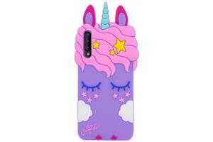 Силиконовая накладка 3D Little Unicorn для Samsung Galaxy A50 (A505F) / A50s / A30s