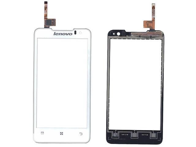 купить бу Тачскрин (Сенсорное стекло) для смартфона Lenovo P770 белый в Харкові