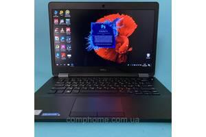 Тонкий  и красивый. Подойдёт на подарок Dell E7470 / Core i5-6300U / DDR4 8GB/SSD 256 m2Sata / Full HD IPS Сочная/Магаз